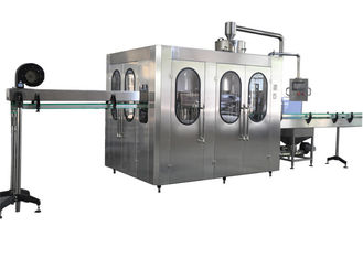 AC380V Touch Screen Bottled Water Filling Line Used For Plastic Screw Cap