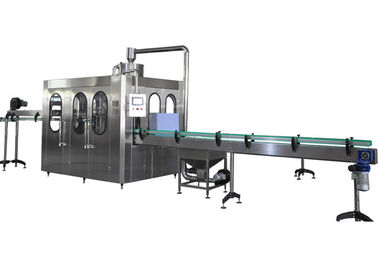 6000BPH Bottled Water Filling Line , Stainless Steel 3 In 1 Water Filling Machine